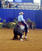 Todd Crawford  Becomes the NRCHA's First $2 Million Rider