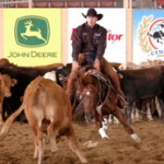 Ralls Leads in Cow Horse Derby Prelims