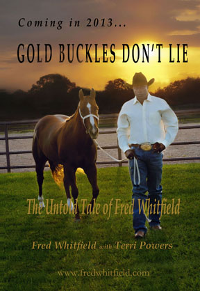 Whitfield qualifies for 20th National Finals Rodeo, autobiography to be released in 2013