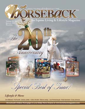Happy Birthday Horseback Magazine!