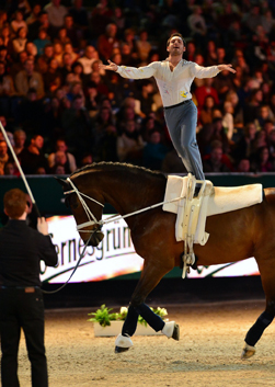 Vaulting Favourites Andreani and Cavallaro win in Leipzig