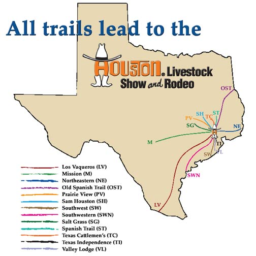 Houston Trail Rides