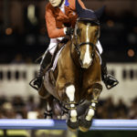 USA-Lillie Keenan rides Super Sox during the Final of the 2016 Furusiyya FEI Nations Cup Jumping Final, CSIO Barcelona, Spain. Saturday 24 September. Copyright Photo: Libby Law Photography