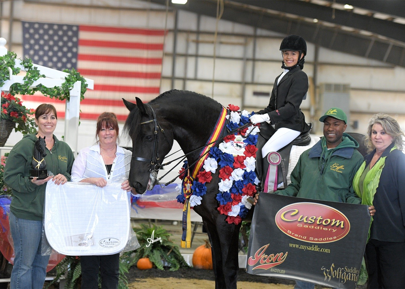 Janae Griffin Named Most Valuable Rider At 2016 International Friesian Show Horse Association World Show Horse Back Magazine