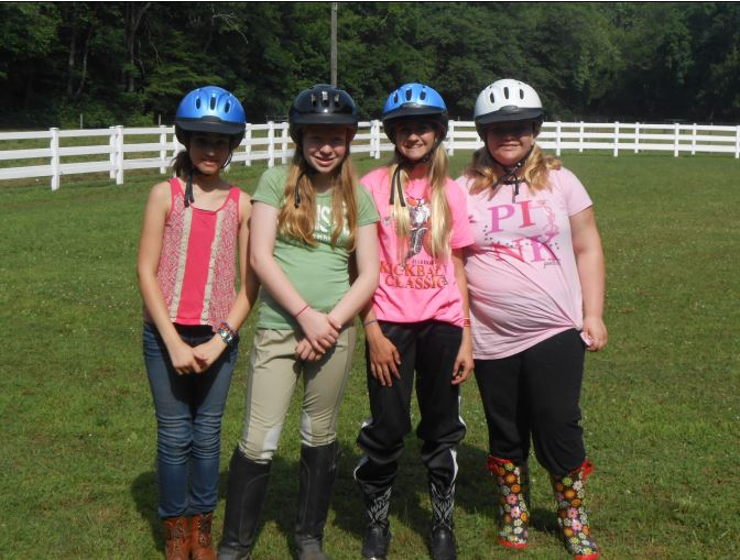 Usa equestrian trust opens 2017 grants program for equine non girl scouts western pennsylvania girl scout juniors prepare for equestrian activities at camp skymeadow outside pittsburgh photo by lisa shade publicscrutiny Gallery